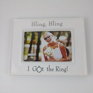 Malden Glazed Ceramic Bling Bling I Got the Ring
